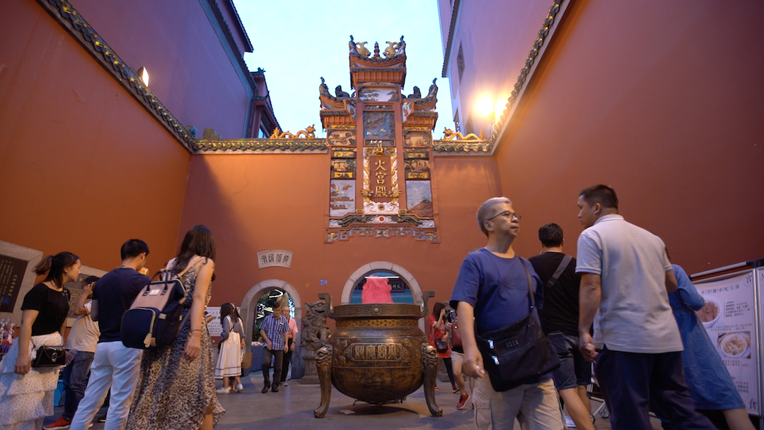 The ULTIMATE Chinese Food Tour: Fiery Palace stinky tofu in Changsha